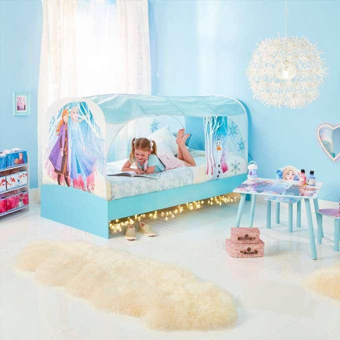 Disney frost 2 sengetelt - Inspiration til indretning af Frost børneværelse