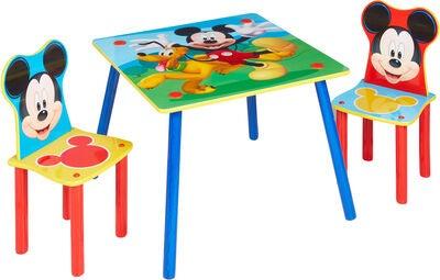 Disney mickey mouse bord og stole - Mickey Mouse børneværelse - find inspiration