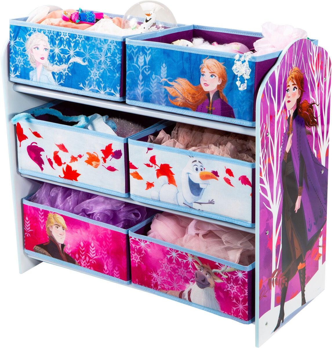 Frost 2 opbervaringsreol - Inspiration til indretning af Frost børneværelse