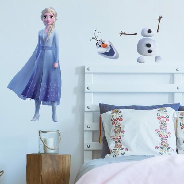 Frost 2 wallstickers - Inspiration til indretning af Frost børneværelse