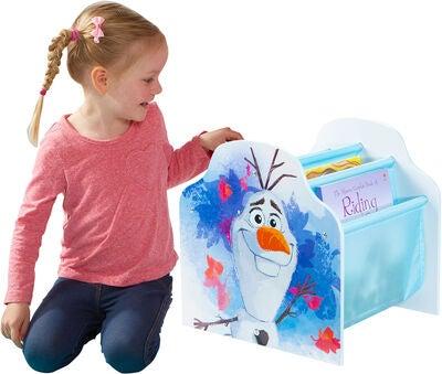 Frost bogreol - Inspiration til indretning af Frost børneværelse