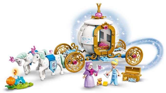 LEGO Askepots royale karet - 10+ Askepot gaveideer til børn