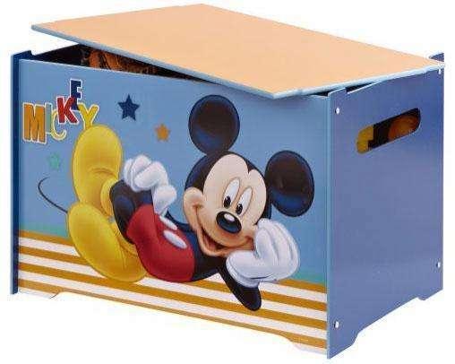 Mickey Mouse legetøjskiste - Mickey Mouse børneværelse - find inspiration