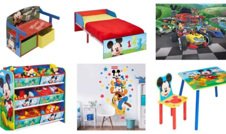 mickey mouse børneværelse, disney børneværelse, mickey mouse børnemøbler, mickey mouse møbler, mickey mouse babyværelse, mickey mouse værelse inspiration, indretning af mickey mouse børneværelse
