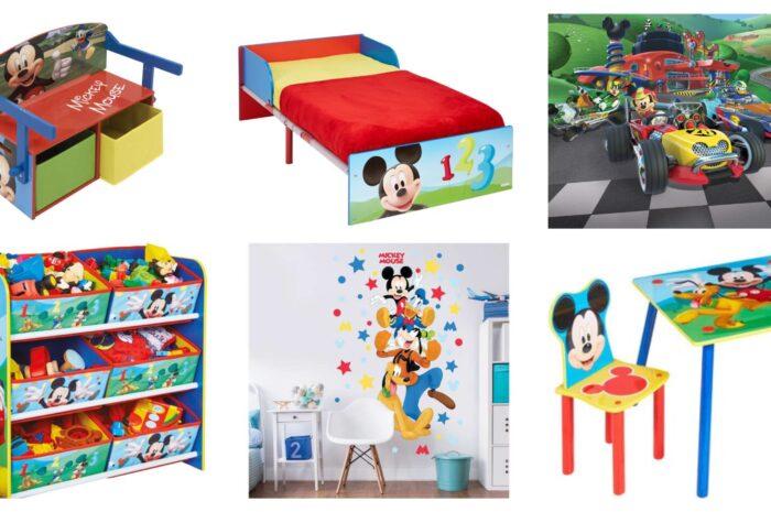 Mickey Mouse børneværelse – find inspiration
