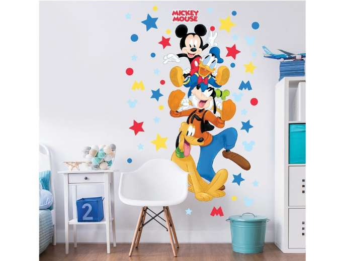 Mickey mouse wallstickers - Mickey Mouse børneværelse - find inspiration