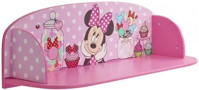 Minnie Mouse boghylde 1 - Inspiration til indretning af Minnie Mouse børneværelse