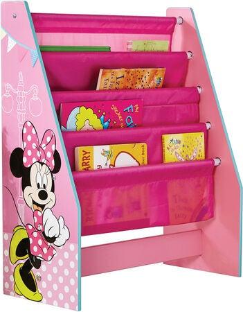 Minnie Mouse boghylde - Inspiration til indretning af Minnie Mouse børneværelse