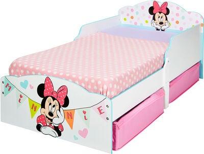 Minnie Mouse juniorseng - Inspiration til indretning af Minnie Mouse børneværelse