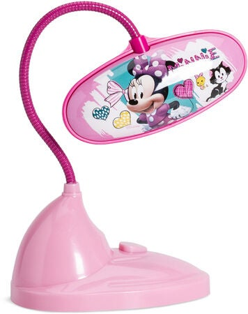 Minnie Mouse skrivebordslampe - Inspiration til indretning af Minnie Mouse børneværelse