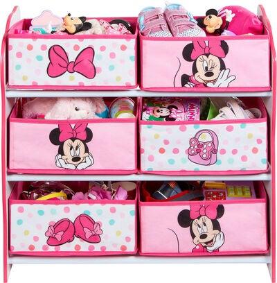 Minnie mouse hylde - Inspiration til indretning af Minnie Mouse børneværelse