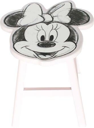 Minnie mouse skammel til børn - Inspiration til indretning af Minnie Mouse børneværelse