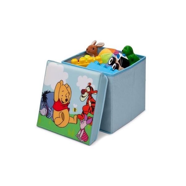 Peter plys opbevaringskasse - Peter Plys børneværelse - find inspiration til indretning