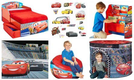 cars børneværelse, mcqueen børneværelse, indret cars værelse, cars børnemøbler, cars møbler