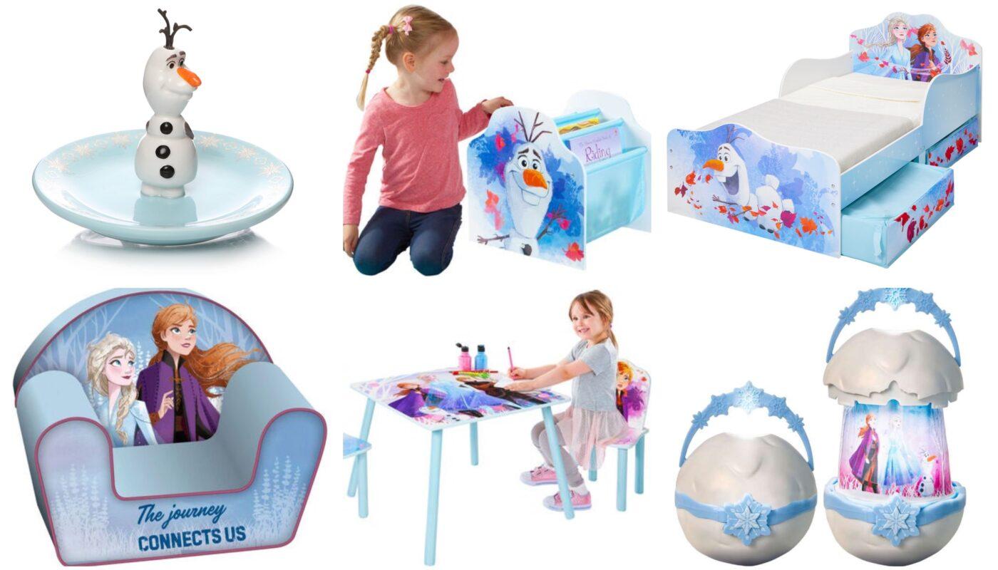 frost børneværelse indretning, frost 2 børnemøbler, frost 2 møbler til børn, indretning af frost værelse, gaveide ttil frost pige