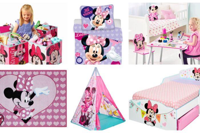 Inspiration til indretning af Minnie Mouse børneværelse