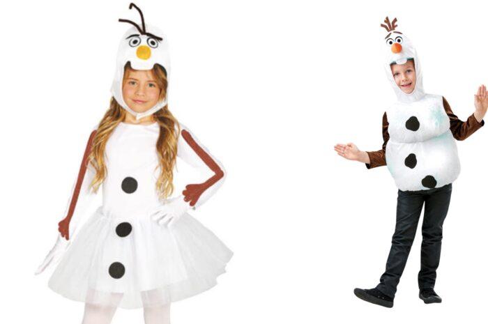 Olaf kostume til børn