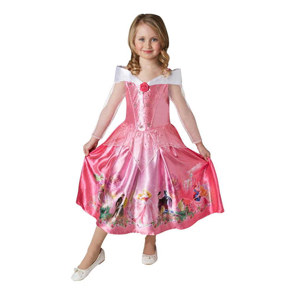 tornerose børnekjole - Tornerose kostume til børn