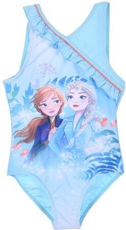 Disney Frozen badedragt med Elsa og Anna - Frost badetøj til børn