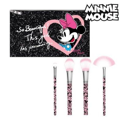 Minnie Mouse makeup børstesæt med taske - Disney toilettaske til børn (og voksne)