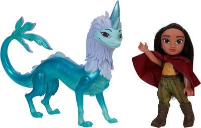 Disney Raya Dukke Lille m. Dragen Sisu - 10+ Raya og den sidste drage gaveideer til børn
