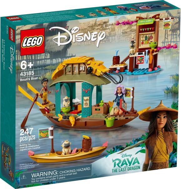 LEGO Disney Princess Bouns båd - 10+ Raya og den sidste drage gaveideer til børn