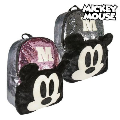 Mickey Mouse Rygsæk Med Palietter Til Børn - Mickey Mouse rygsæk til børn