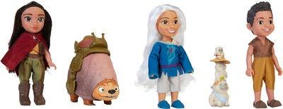Raya og den sidste drage 5 figurer - 10+ Raya og den sidste drage gaveideer til børn