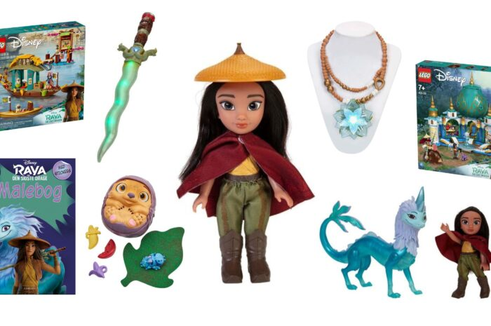 10+ Raya og den sidste drage gaveideer til børn