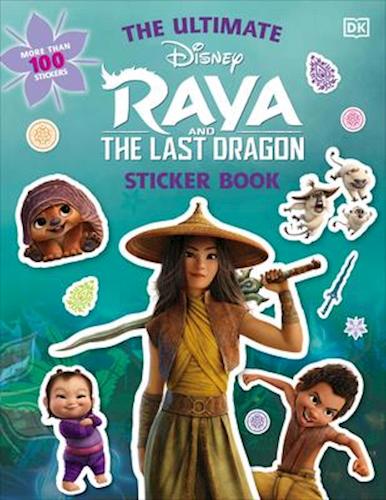Raya og den sidste drage stickers bog - 10+ Raya og den sidste drage gaveideer til børn