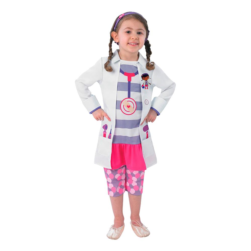 Doc McStuffins kostume til børn - Doktor McStuffins børnekostume