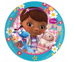 Doktor McStuffins Tallerkener disney junior fødselsdag 300x253 - Doktor McStuffins fødselsdag