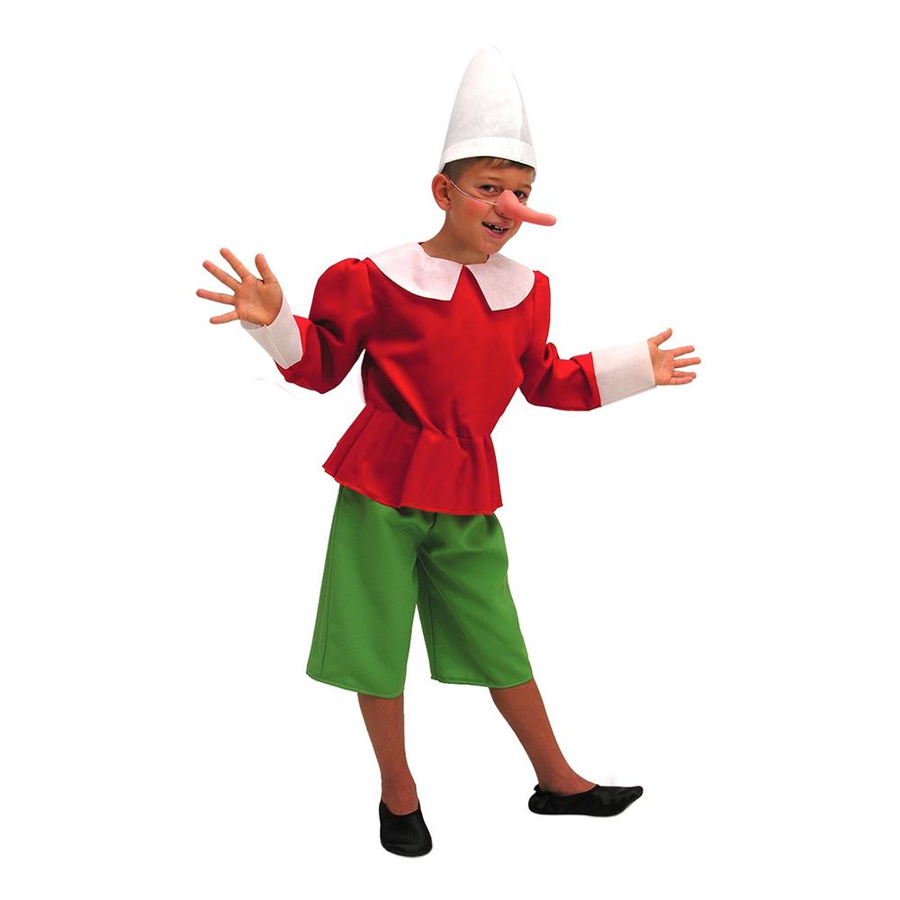 Pinocchio børnekostume - Pinocchio kostume til børn