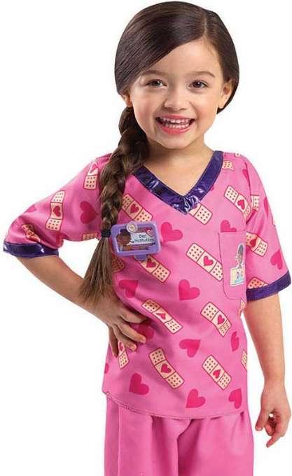 doktor mcstuffins kostume til børn disney junior kostumer - Doktor McStuffins børnekostume