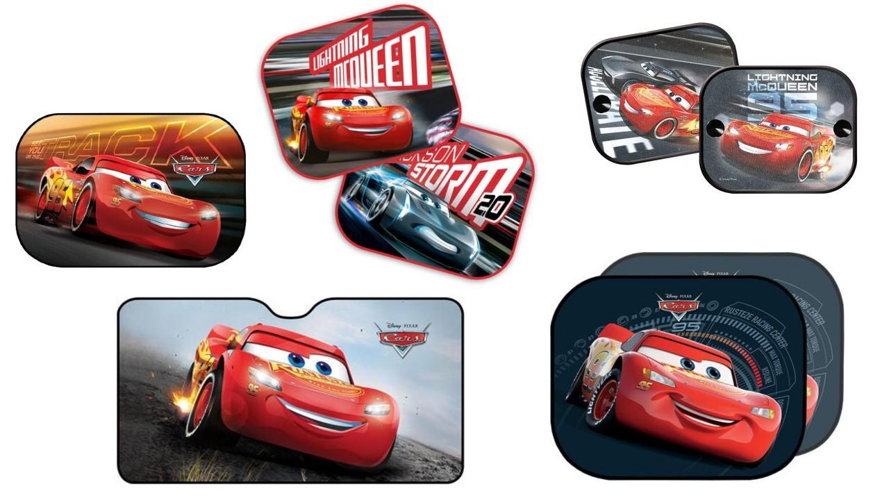 Disney Cars solskærme til bil - Disney solskærme til bil