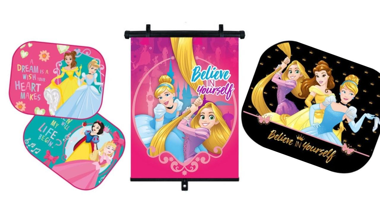 Disney prinsesser solskærme - Disney solskærme til bil