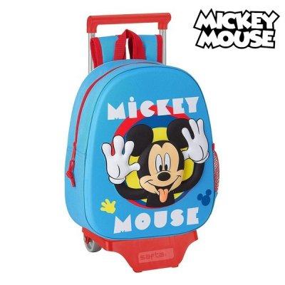 Mickey Mouse Trolley Rygsæk Til Børn  - Mickey Mouse kuffert