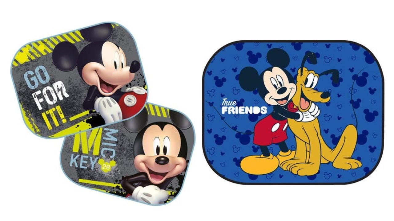 Mickey Mouse solskærme til bil  - Disney solskærme til bil
