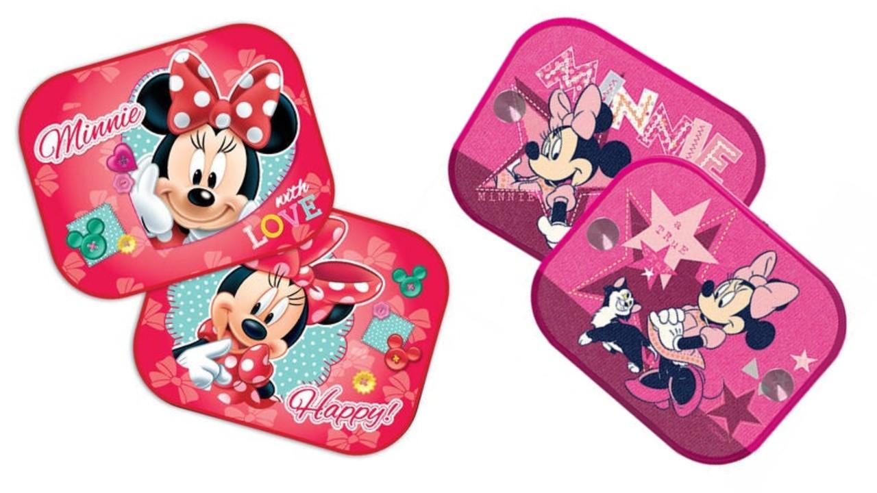 Minnie Mouse solskærme - Disney solskærme til bil
