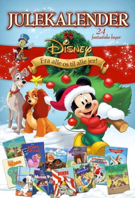 Disney Julekalender 24 historiebøger - Disney julekalender 2021