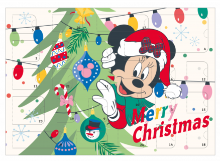 Disney Minnie Mouse julekalender - Disney julekalender 2021