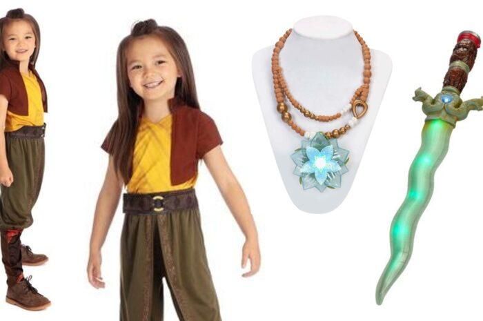 Raya kostume til børn